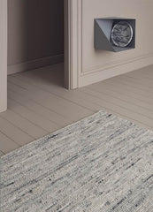 Linie Design Ardesia Rug Light Grey in Room