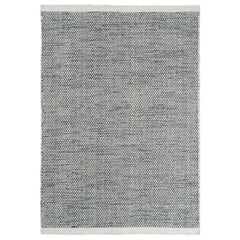Linie Design Asko Rug Mixed Black and White