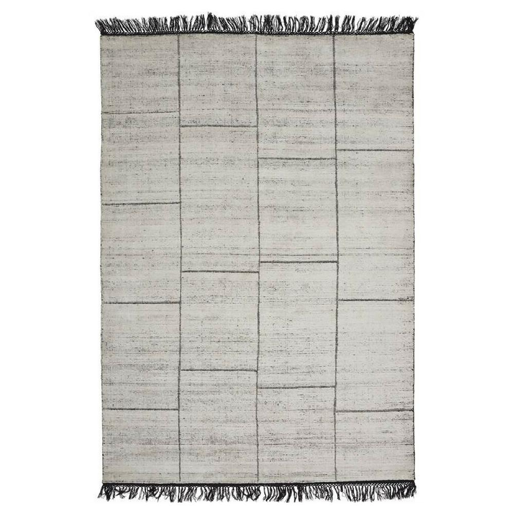 Linie Design Catania Rug White Black