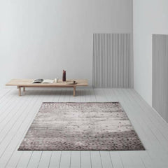 Linie Design Dotto Bordeaux Rug in Room