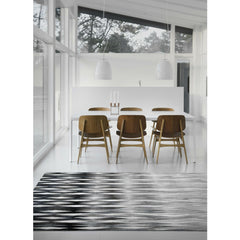 Linie Design Dynasty Rug Grey in Room
