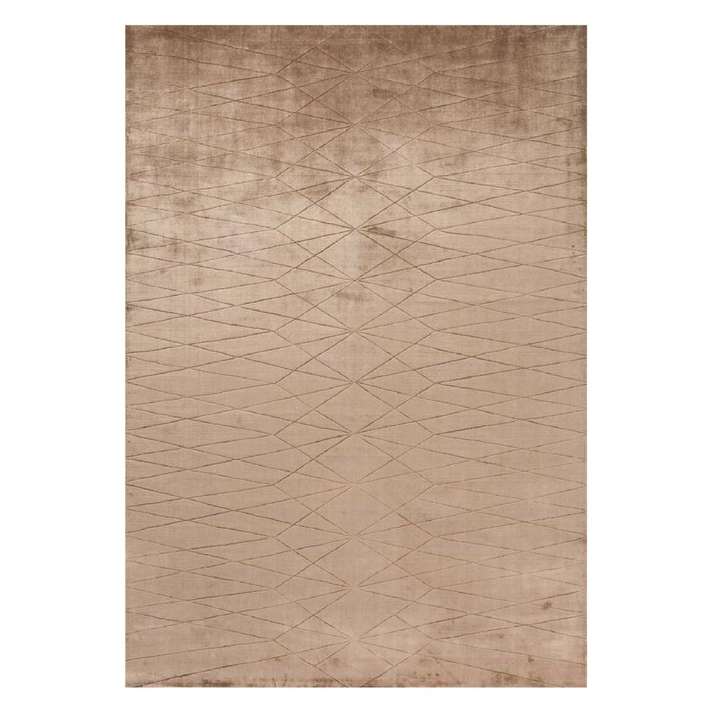 Linie Design Edge Rug in Wine