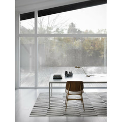 Linie Design Grey Opal Rug in Room