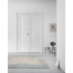 Linie Design Noam Rug Aqua in Room