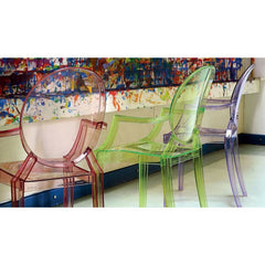 Lou Lou Ghost Chair by Philippe Starck for Kartell Kids Paint Area