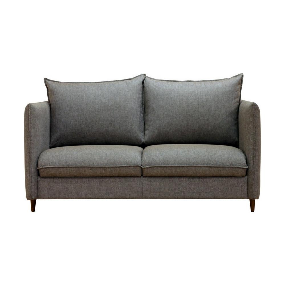 Luonto Flipper Sleeper Loveseat Wood Legs