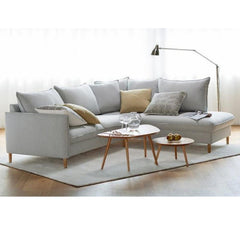 Luonto Narvik Sofa Tables in Room with Sectional Sleeper Sofa