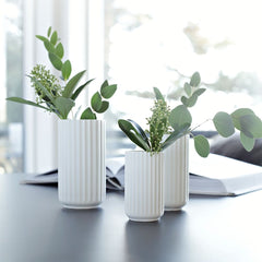 Lyngby Vases with Greenery