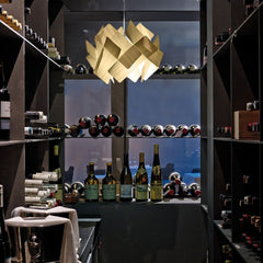 LZF Escape Pendant Light in wine cellar