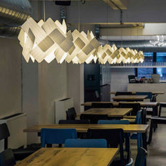 LZF Escape Pendant Lights in restaurant