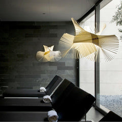 LZF Minimikado Pendant Lights in situ in Spa