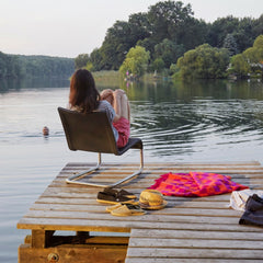 Lakeside with the .06 Lounge Chair from Vitra