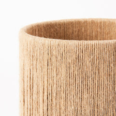 Made by Hand Ro Table Lamp Jute Detail