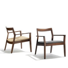 Marc Krusin Lounge Chairs Walnut Knoll