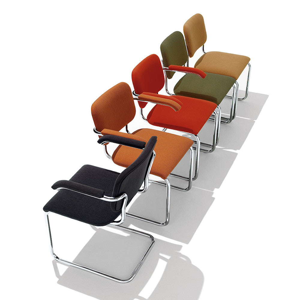 Knoll Cesca Chair By Marcel Breuer Upholstered Palette