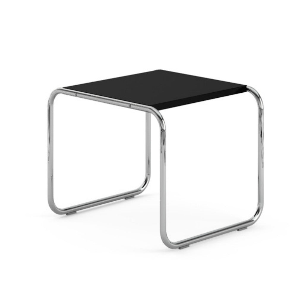 Marcel breuer laccio side table knoll modern furniture breuer laccio side table black laminate top geotapseo Images
