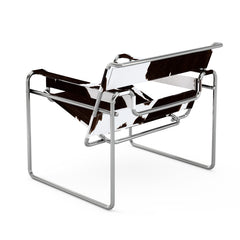 Marcel Breuer Cowhide Wassily Chair Back View Knoll