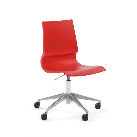 Gigi Armless Chair With Swivel Base | Marco Maran