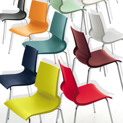 Marco Maran Gigi Chairs Bright Colors Knoll
