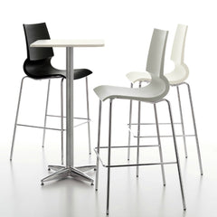 Marco Maran Gigi Bar Stools Cafe table Knoll