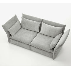 Silver Grey Mariposa Sofa Aerial View Barber Osgerby for Vitra
