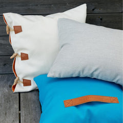 Hemse Pillow with Tofta and Bung Pillows by Skargaarden