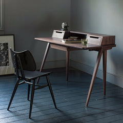 Ercol Butterfly Chair in Room with Treviso Desk by Matthew Hilton