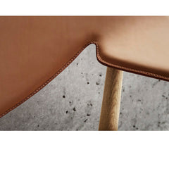 Metropolitan Chair Cognac Leather Detail Larsen and Bender Madsen Carl Hansen and Son