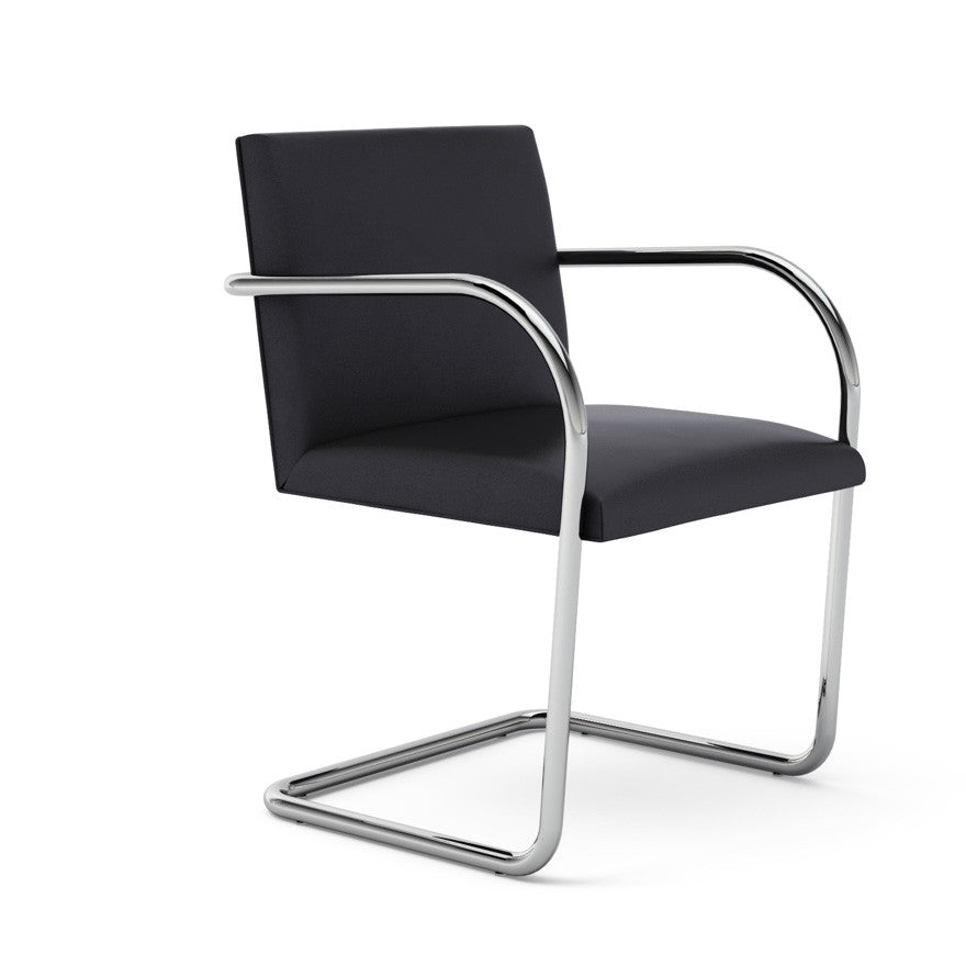 mies van der rohe brno chair tubular frame knoll modern. Black Bedroom Furniture Sets. Home Design Ideas