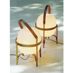 Miguel Milá Cesta Table Lamps by Santa & Cole
