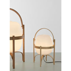 Miguel Milá Cestita and Cesta Table Lamps by Santa & Cole
