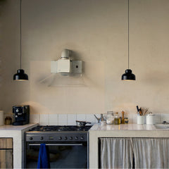 Miguel Milá M64 Suspension Lamps in Kitchen by Santa & Cole