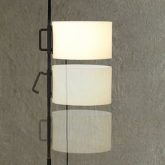 Miguel Milá TMC Floor Lamp Showing How To Move Shade Position from Santa & Cole