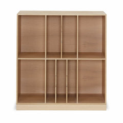 Mogens Kock Bookcase MK40880 Oak Six Shelves Dividers Carl Hansen and Son