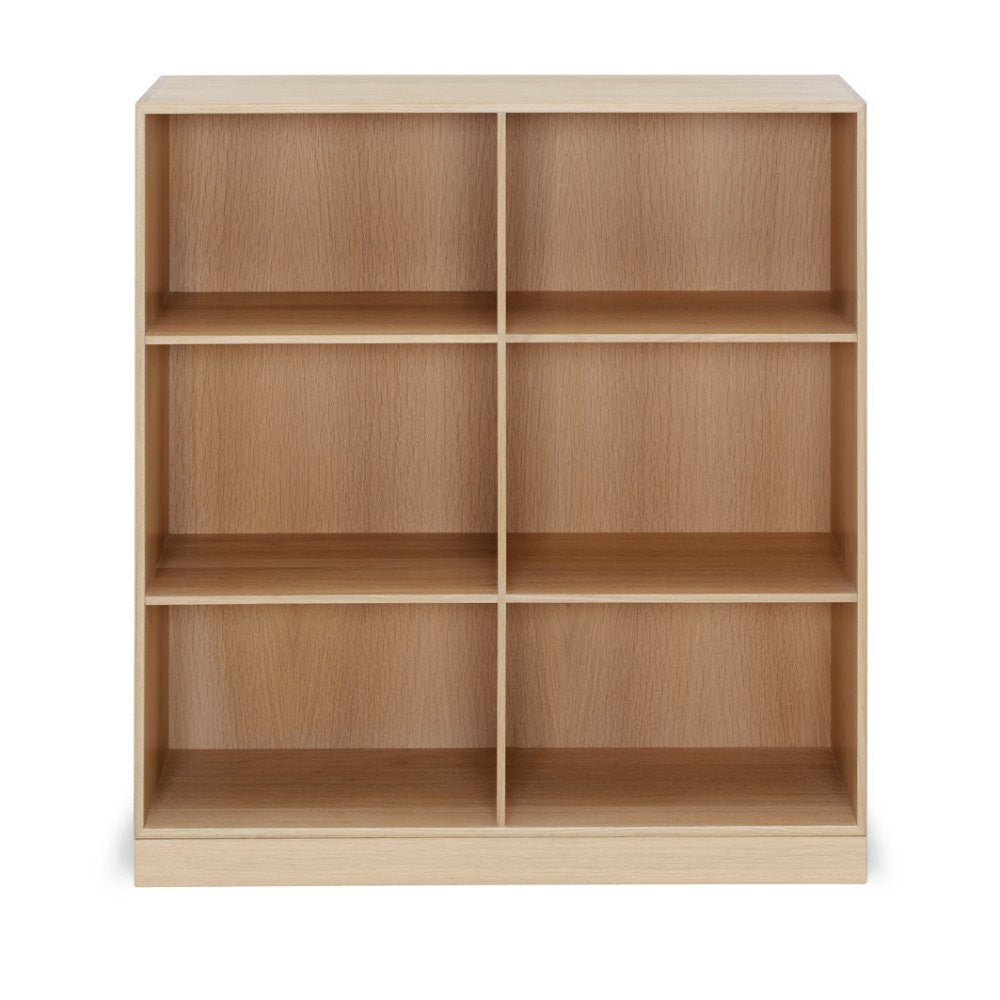 Mogens Koch Bookcase MK40880 Oak Six Shelves Carl Hansen and Son