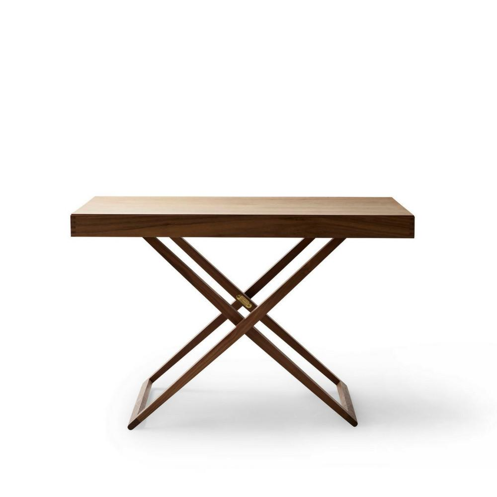 Mogens Koch Folding Table in Walnut by Carl Hansen & Son