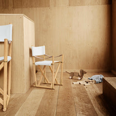 Mogens Koch Grandchild Chair with MK99200 Folding Chair from Carl Hansen & Søn
