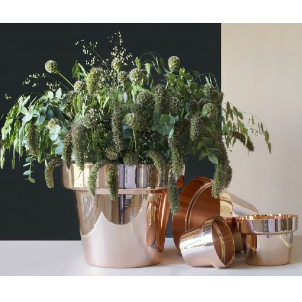monica förster copper flower pots skultuna modern furniture