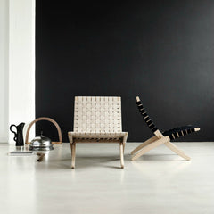 Morten Gottler Cuba Chair Light Cotton Natural Oak In Situ Carl Hansen & Son