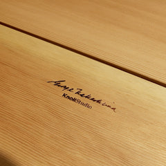 George Nakashima's Signature and KnollStudio Logo