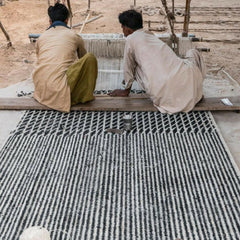 Nanimarquina Blur Rug Being Made