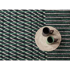 Nanimarquina Bouroullec Blur Rug Green Detail Styled