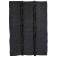 Nani Marquina Mia Rug Dark Blue Base Dark Blue Fringe