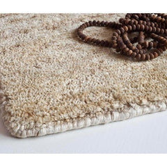 Nani Marquina Noche Rug Natural Hand Knotted Detail