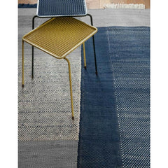 Nani Marquina Tres Rug Blue in room