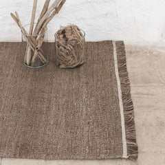 Nanimarquina Ilse Crawford Nettle Wellbeing Rug Detail