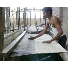 Nanimarquina Herb Rug Being Made