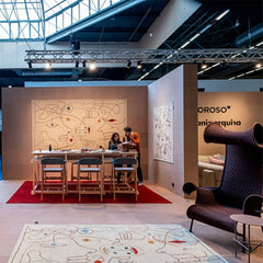 Nanimarquina Silhouette Rug by Jaime Hayon at Maison Objet 2020.