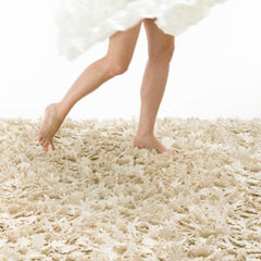 Nanimarquina Little Field of Flowers Rug by Tord Boontje Ivory Styled
