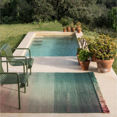 Nanimarquina Shade Outdoor Rug Styled by Pool